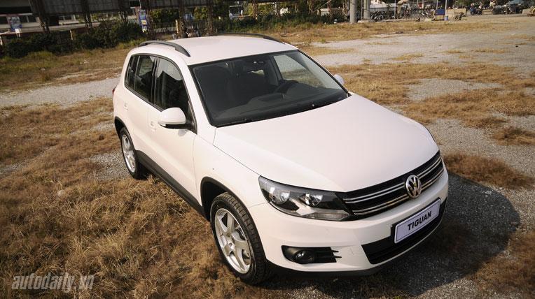 Volkswagen Tiguan – SUV chất lượng Đức, giá hơn 1,4 tỷ