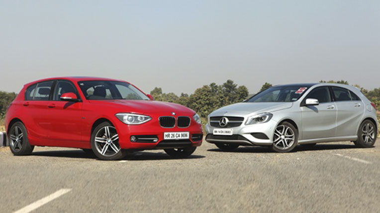 "Mercedes A-Class vs BMW 1 Series – Ai sẽ là ""vua""?"