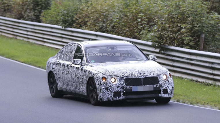 Thông tin mới về BMW 7-Series 2015