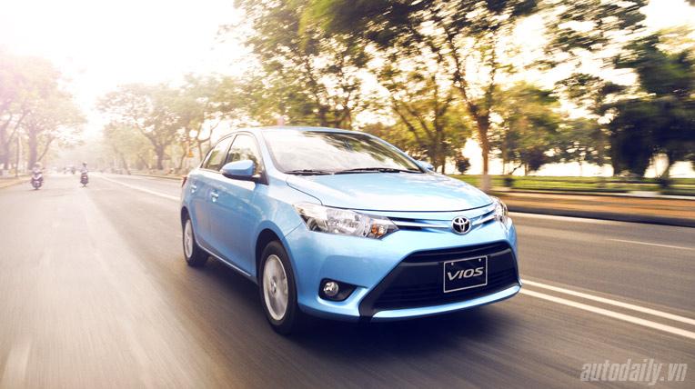 """6 tháng đầu năm 2014: """"Cú hích"""" Toyota Vios"""