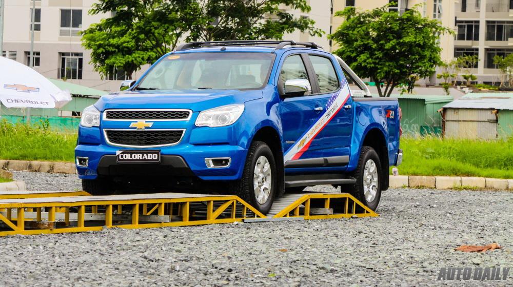 Lái thử dàn xe Chevrolet tại Sài Gòn