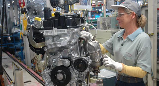 Toyota bắt đầu sản xuất động cơ 3 xy-lanh mới