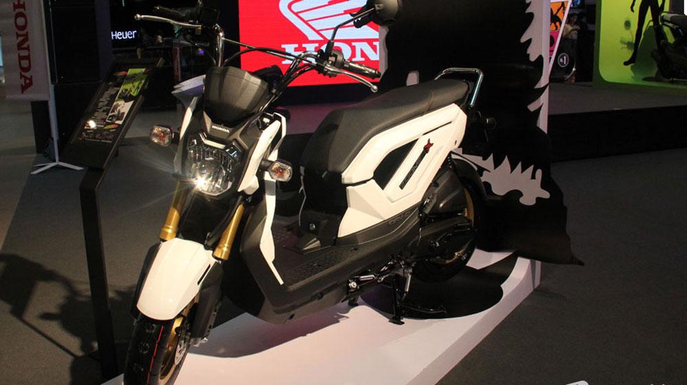 Honda Zoomer-X 2014 ra mắt, giá từ 1.600 USD