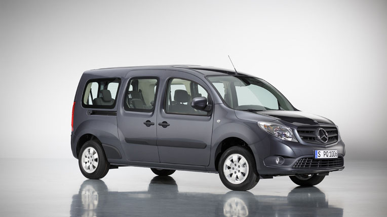 Mercedes-Benz giới thiệu Citan van 7 chỗ