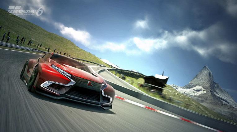 """""""Xế lạ"""" Mitsubishi XR-PHEV Evolution Vision Gran Turismo"""