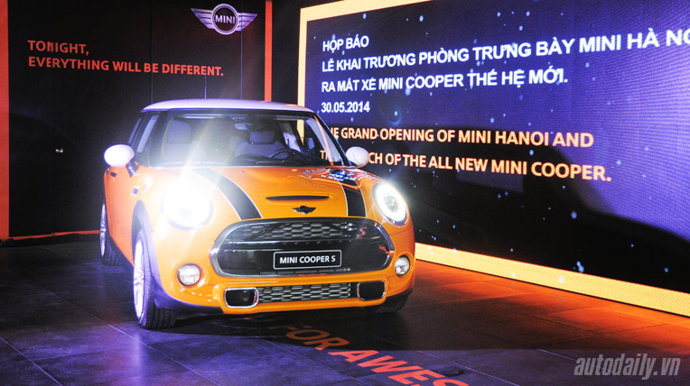MINI Cooper mới chính thức ra mắt tại Việt Nam