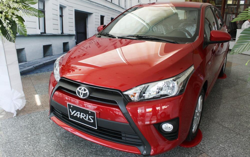 Ảnh chi tiết Toyota Yaris 2014 chính hãng tại Việt Nam