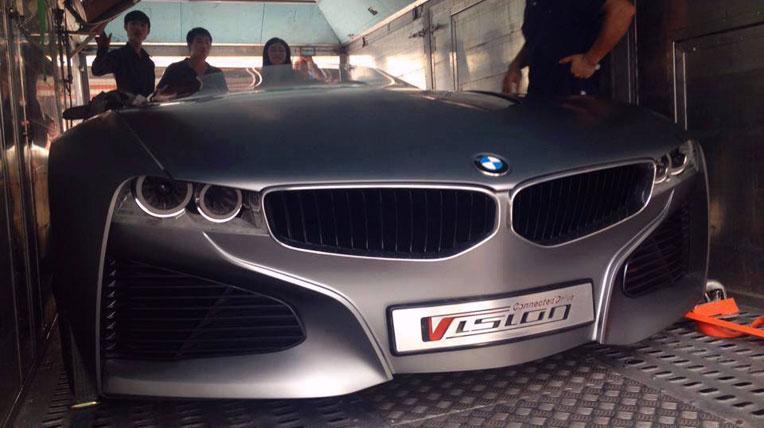 """Xe """"siêu"""" ý tưởng của BMW về Việt Nam"""