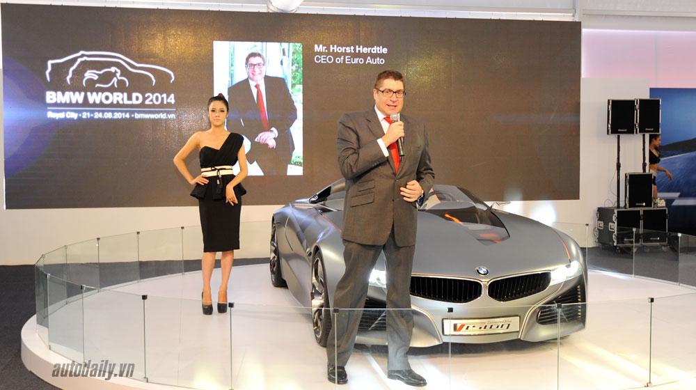 Khai mạc triển lãm BMW World XPO2014