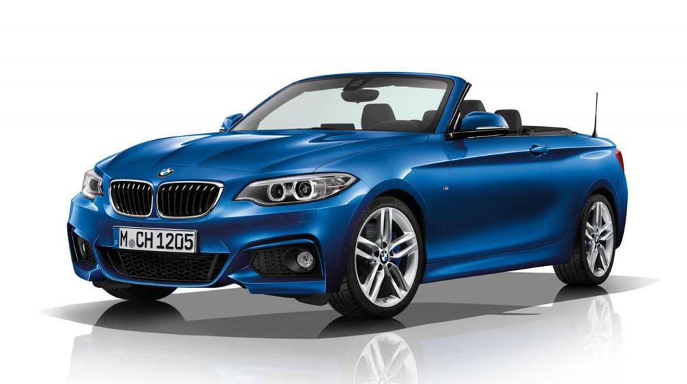 BMW 2-Series Cabrio M Sport lộ diện