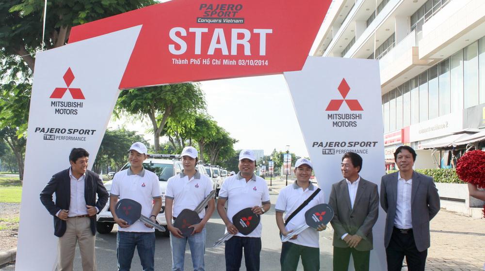 Khởi động hành trình xuyên Việt cùng Mitsubishi Pajero Sport - 1