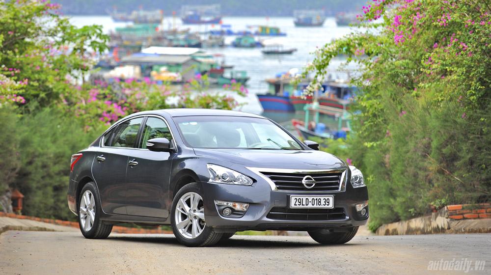 """Nissan Teana 2.5SL – """"Phiêu du trên hòn đảo Ngọc"""""""
