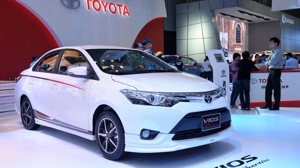 """Có một Toyota Vios và Fortuner """"rất khác"""" tại VMS 2014"""