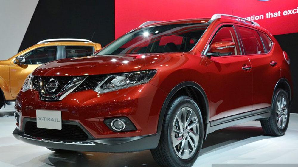 Nissan X-Trail 2015 có giá từ 35.700 USD