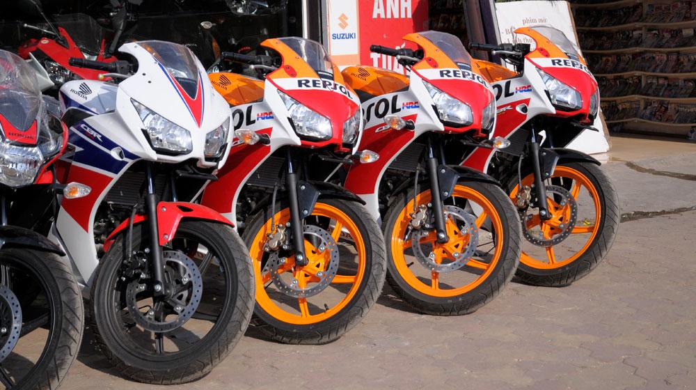 Honda CBR150R 2015 về Hà Nội, giá 114 triệu đồng