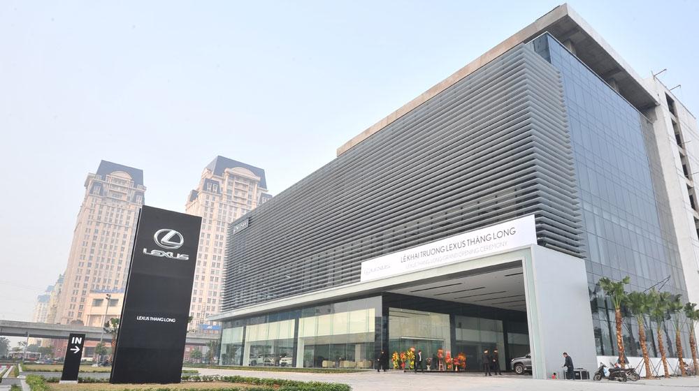 Chiêm ngưỡng không gian hoành tráng của Lexus Thăng Long