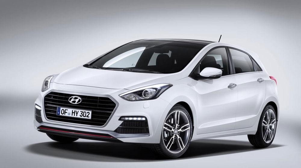 Hyundai i30 bản cải tiến có giá từ 23.470 USD