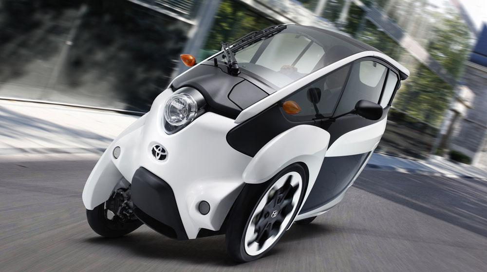 Toyota công bố chương trình chia sẻ i-Road