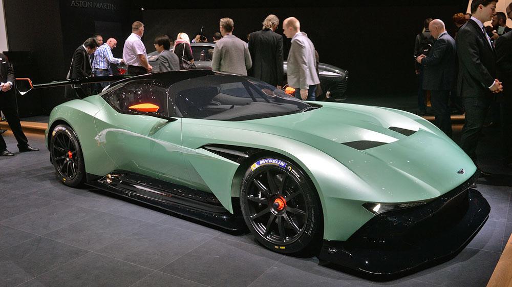 Ngắm những chi tiết độc và lạ trên Aston Martin Vulcan