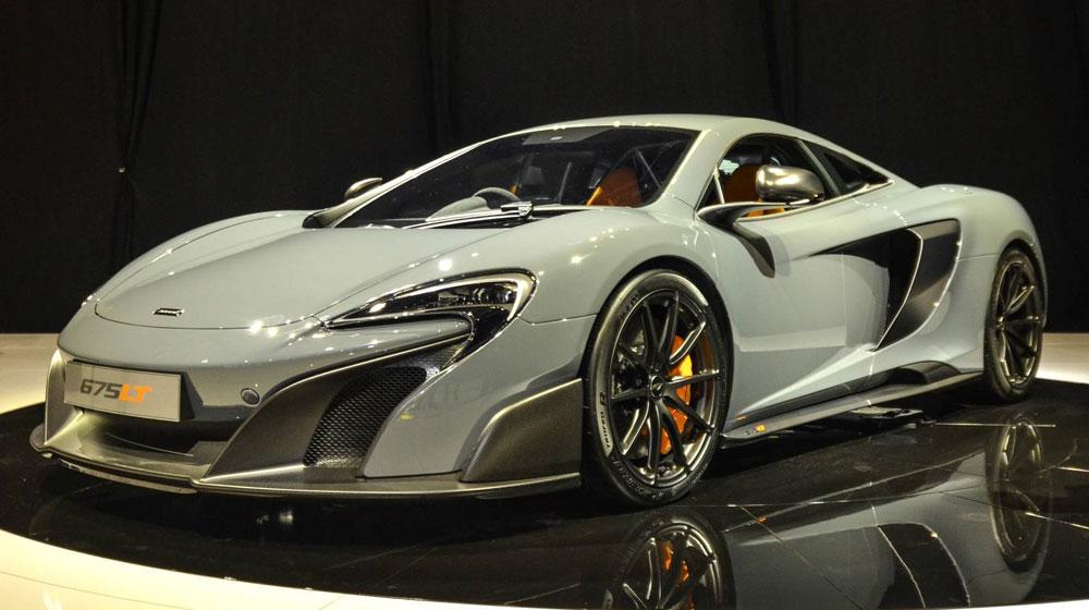 mclaren 675 lt15 McLaren trình làng siêu xe mạnh nhất, nhẹ nhất của mình   McLaren 675LT