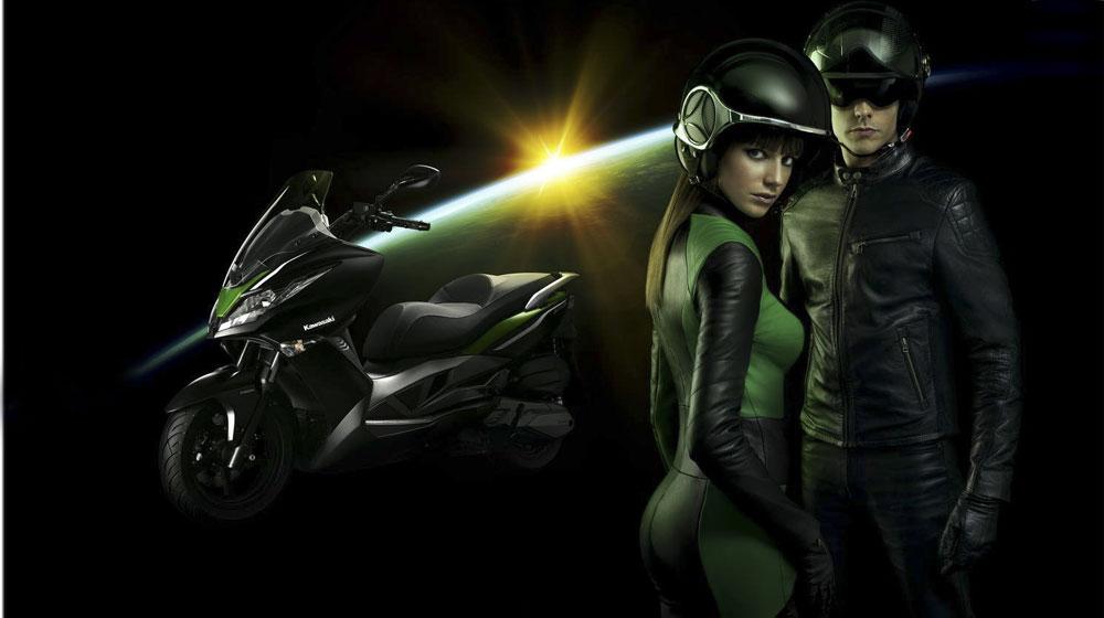 Kawasaki giới thiệu xe tay ga 500cc