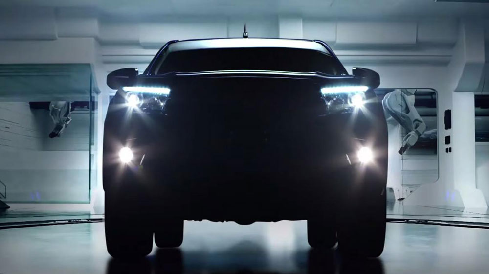 Video: Teaser Toyota Hilux 2016