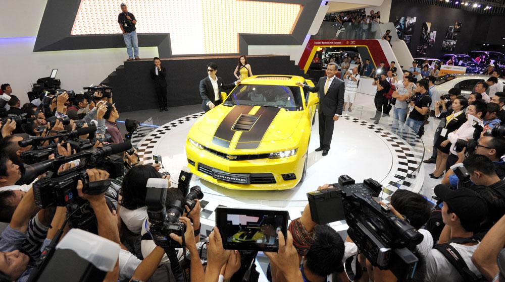 Thị trường ôtô tiếp tục đi lên trong tháng 4