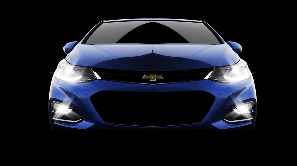 """2016 Chevrolet Cruze 002 Đối thủ lớn của Toyota Altis và Honda Civic """"chốt"""" ngày ra mắt thị trường"""