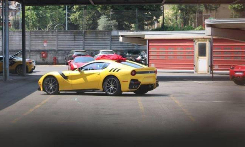 Siêu xe Ferrari F12 GTO lộ ảnh không ngụy trang