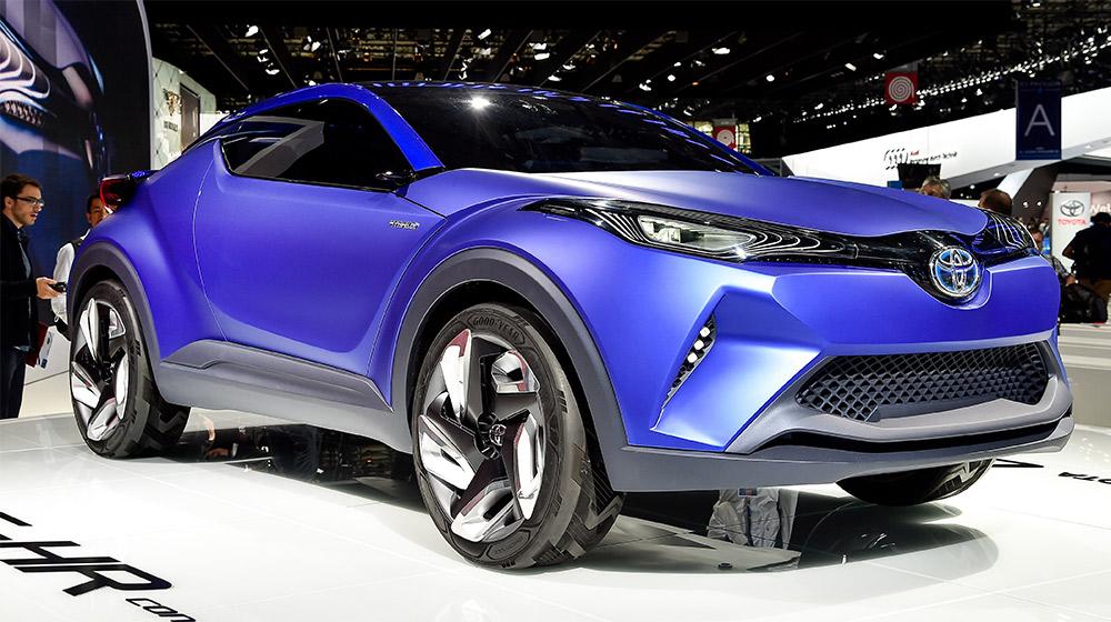 Toyota sắp trình làng crossover cỡ nhỏ hoàn toàn mới