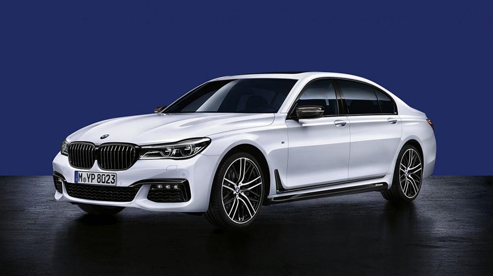 BMW giới thiệu phụ kiện M Performance cho 7-Series