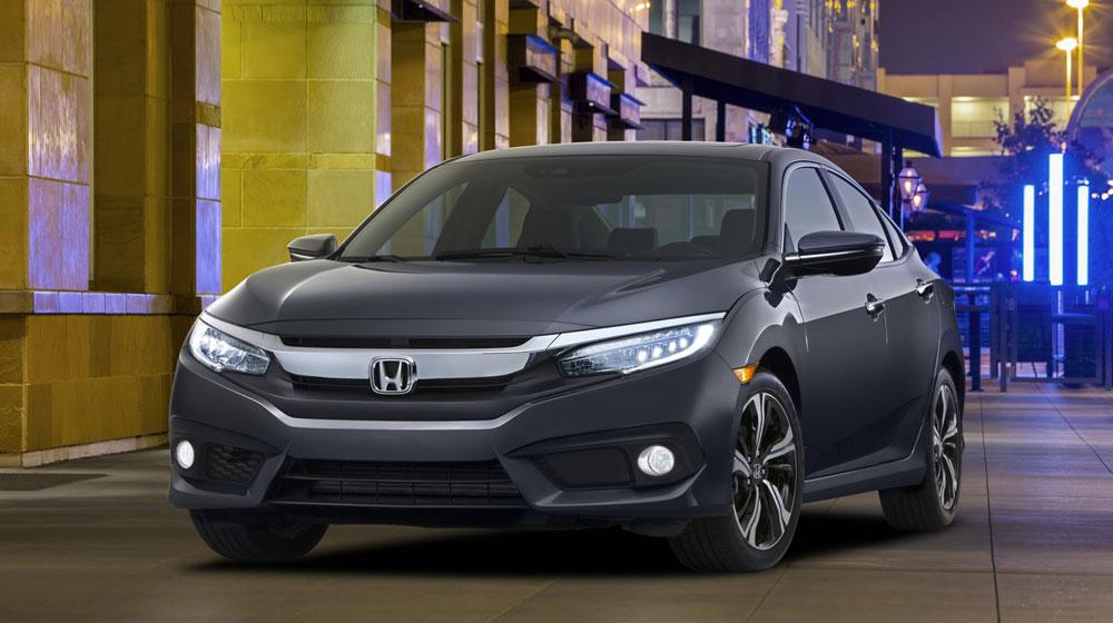 Vén màn Honda Civic sedan 2016 hoàn toàn mới