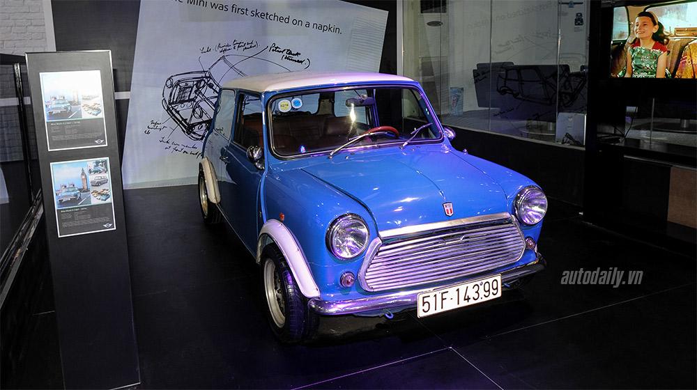 Ngắm chiếc MINI cổ tại triển lãm ôtô quốc tế 2015