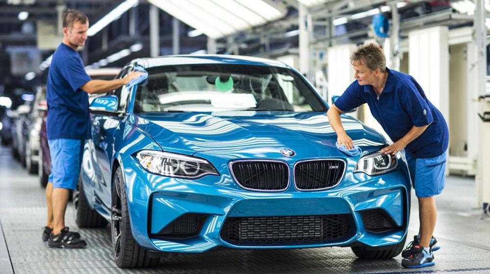 BMW M2 Coupe 2016 bắt đầu đi vào sản xuất tại Đức