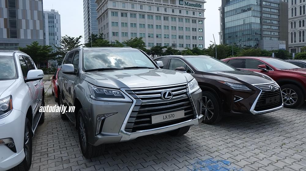 Lexus và Toyota bắt đầu đưa xe đến Triển lãm Ôtô Việt Nam 2015