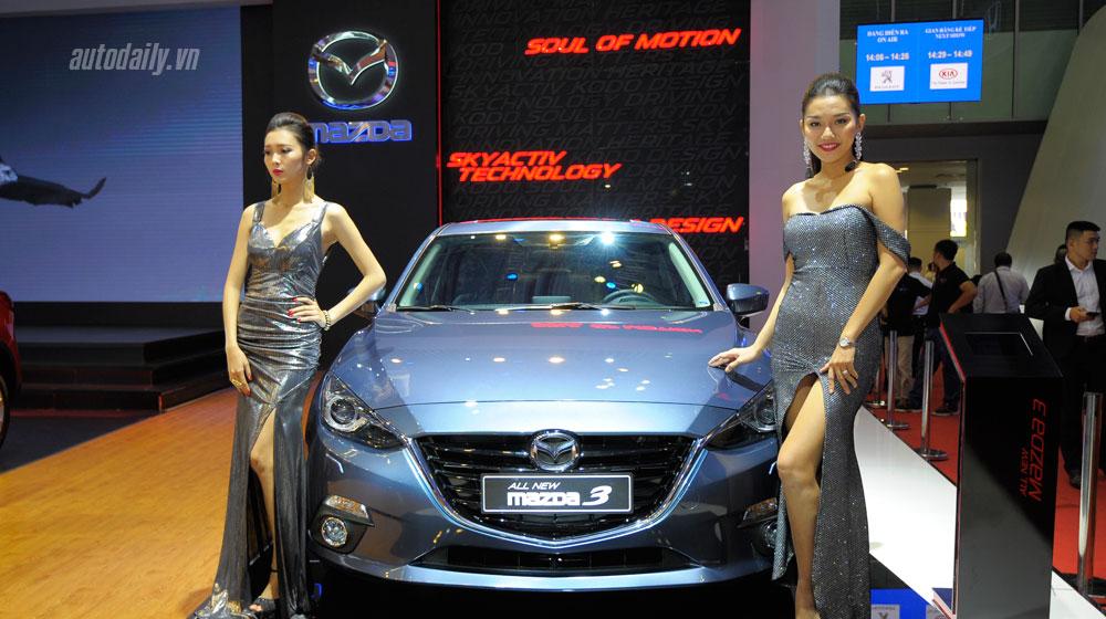 """Mazda mang """"đặc sản"""" đến Triển lãm ôtô Việt Nam"""