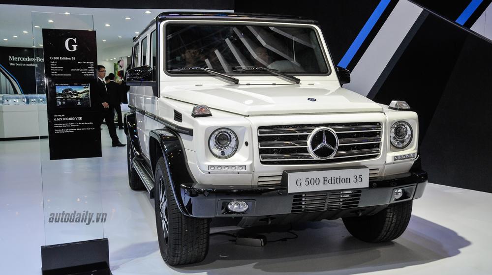 """Ngắm """"hàng thửa"""" Mercedes G 500 Edition 35 tại VMS 2015"""