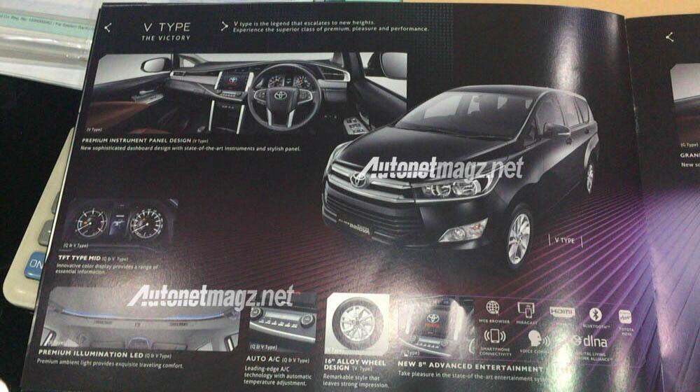 Toyota Innova V 2016
