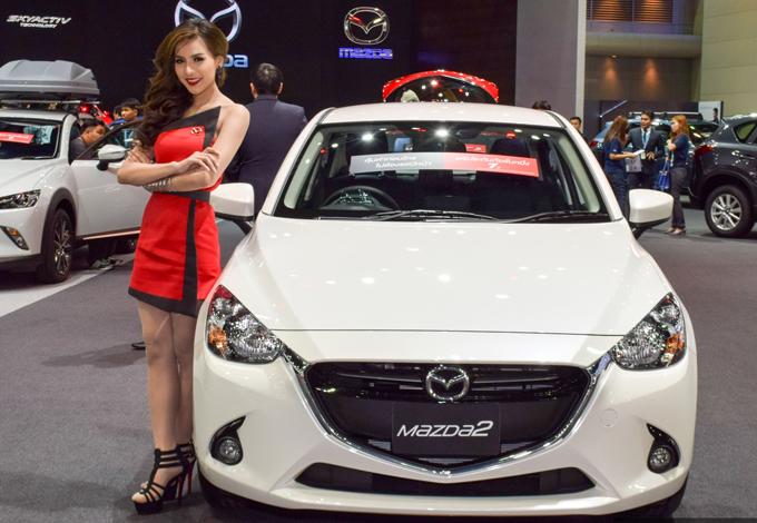 Xe Mazda2 2016 hoàn toàn mới