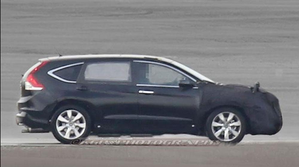Honda CR-V sẽ có thêm phiên bản 7 chỗ