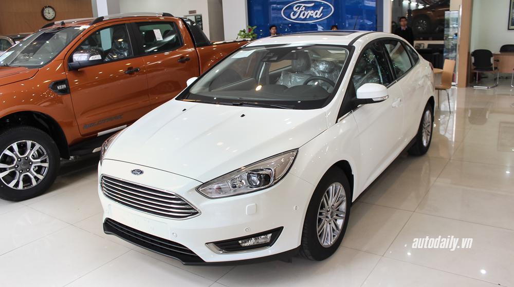 Ford Focus 2016 bắt đầu được bán ra thị trường Việt