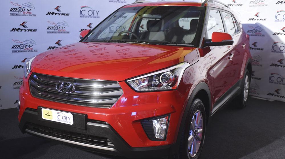 Hyundai Creta giành giải thưởng Xe của năm 2016 tại Ấn Độ