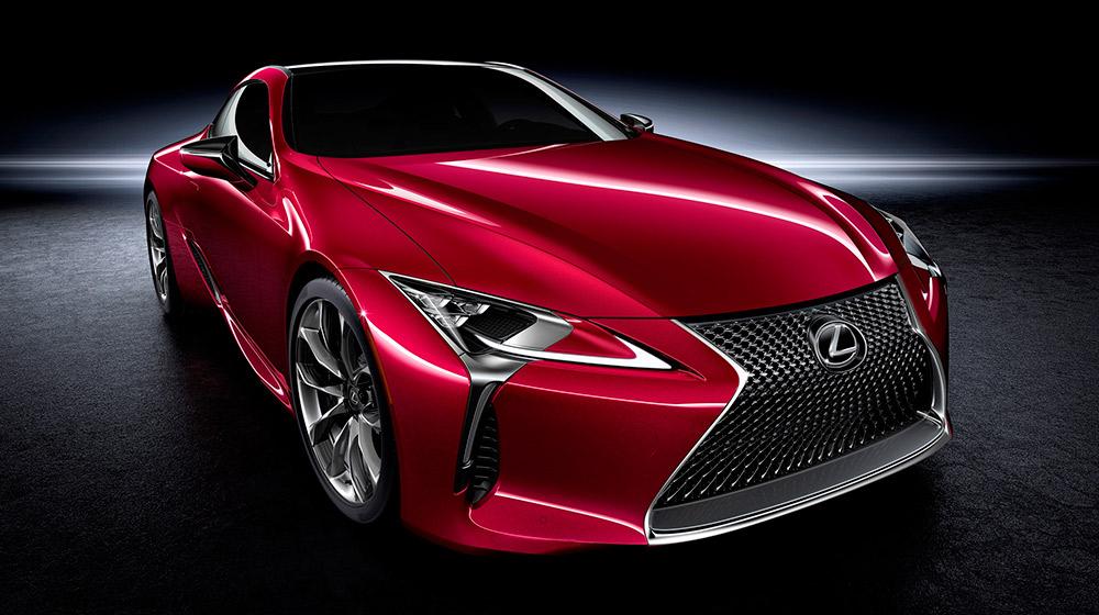 LC 500 2017: Hướng thiết kế mới của Lexus
