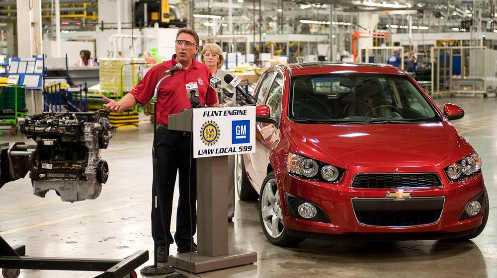 GM lãi 9,7 tỷ USD trong năm 2015