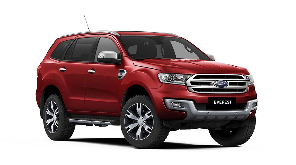 Ford Everest hoàn toàn mới đạt tiêu chuẩn an toàn 5 sao