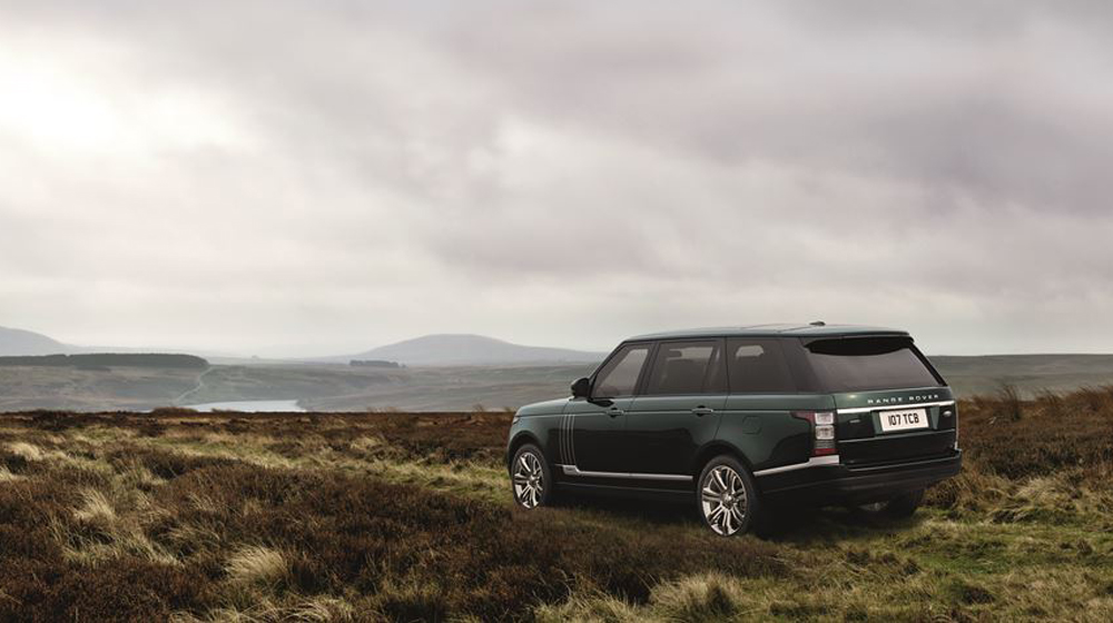 Range Rover Holland & Holland.