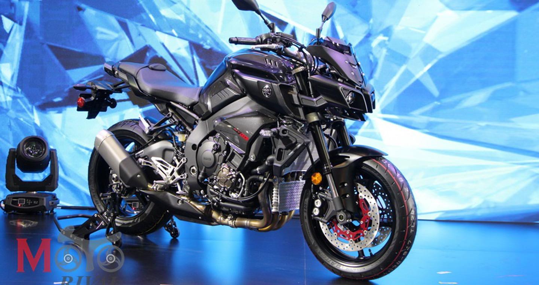 Siêu naked-Bike Yamaha MT-10 ra mắt thị trường Đông Nam Á