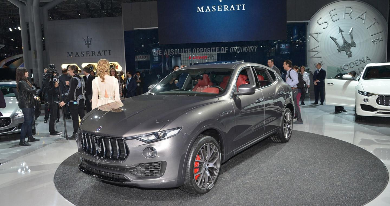 SUV Maserati Levante chính thức ra mắt công chúng New York