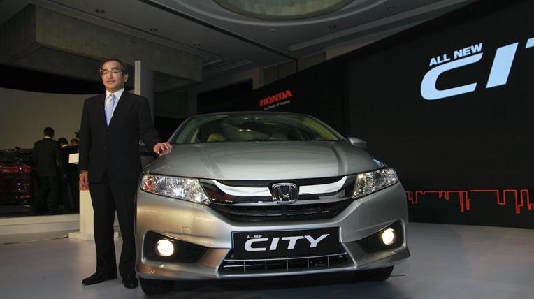Honda bắt đầu bán xe City 2014