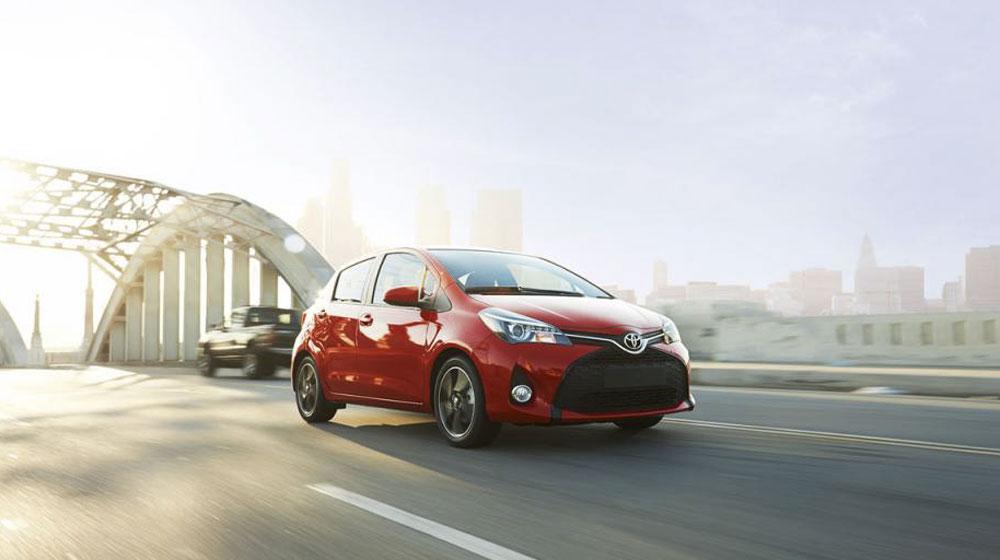 Toyota Yaris 2015 ra mắt tại Mỹ
